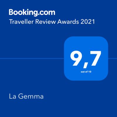 b&b, la gemma a napoli, booking award 2021