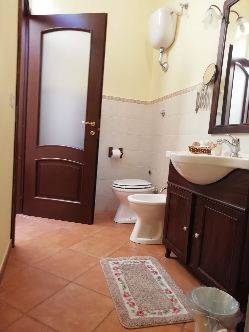 bagno camera matrimoniale