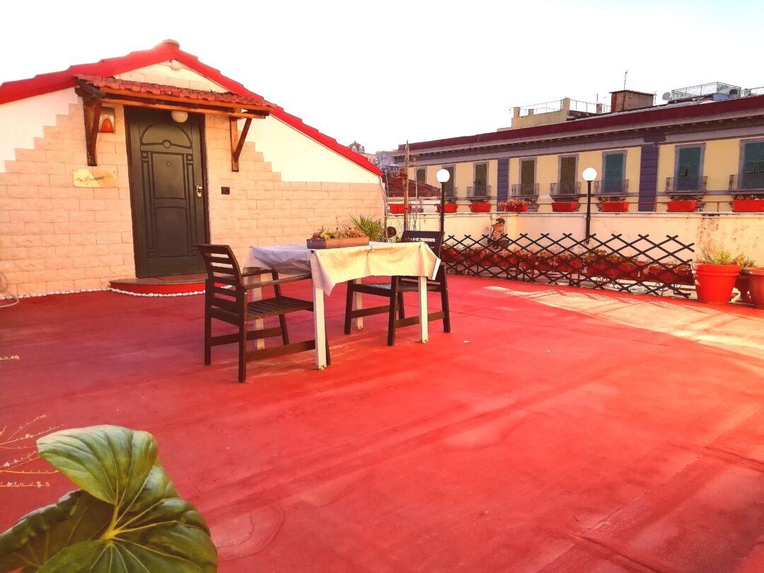 terraza de La Gemma a Napoles